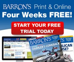 Barrons Magazine and Barrons Online