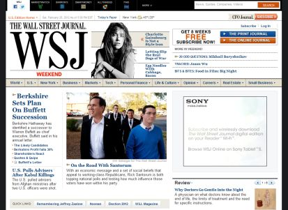WSJ.com - 4 Weeks Free